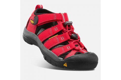 Dětské sandály NEWPORT H2 INF, ribbon red/gargoyle červená 22 Dětská obuv