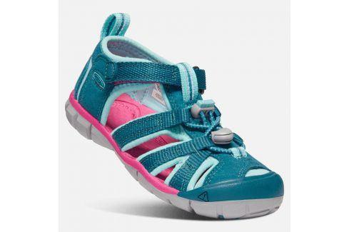 Dětské sandály SEACAMP II CNX K deep lagoon/bright pink tyrkysová 31 Dětská obuv