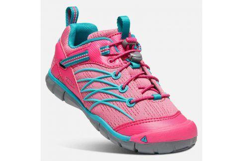 Outdoorové boty CHANDLER CNX JR, bright pink/lake green růžová 38 Dětská obuv