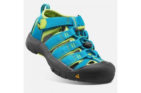 Dětské sandály NEWPORT H2 INF, hawaiian blue/green glow modrá 22 Dětská obuv