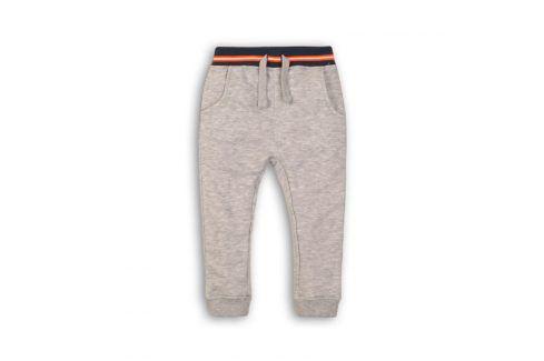 Tepláky chlapecké šedá 98/104 Dětské kalhoty