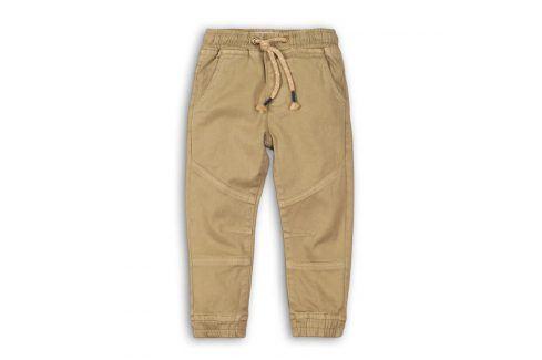 Kalhoty chlapecké hnědá 122/128 Dětské kalhoty