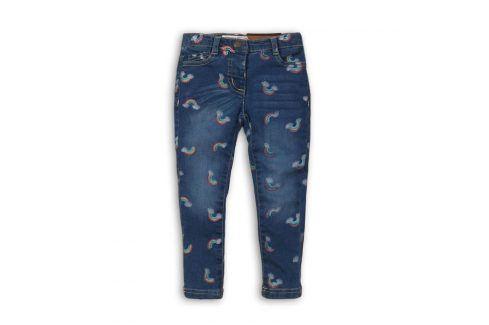 Kalhoty díčí džínové s elastenem modrá 122/128 Dětské kalhoty