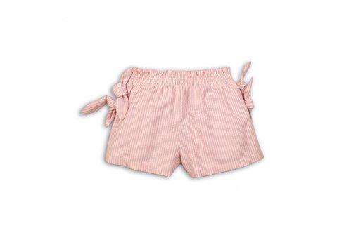 Kraťasy dívčí růžová 104/110 Dětské šortky