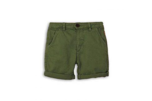 Kraťasy chlapecké zelená 110/116 Dětské šortky