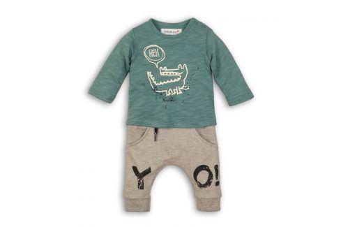 Kojenecký set: tričko a kalhoty kluk 56/62 Kojenecké soupravy