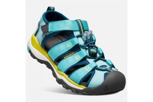 Dětské sandály NEWPORT NEO H2 JR, aqua sea/legion blue modrá 34 Dětská obuv