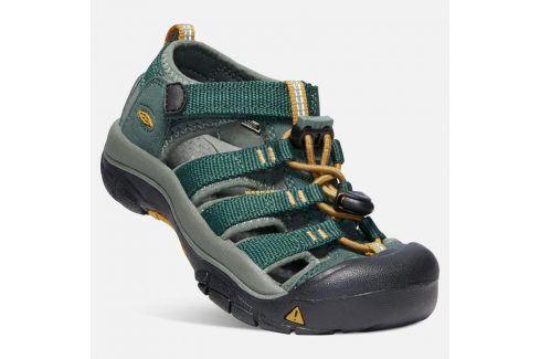 Dětské sandály NEWPORT H2 JR, green gables/wood thrush zelená 32/33 Dětská obuv
