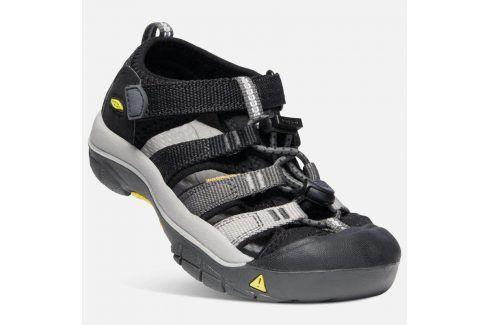 Dětské sandály NEWPORT H2 K black/magnet černá 30 Dětská obuv