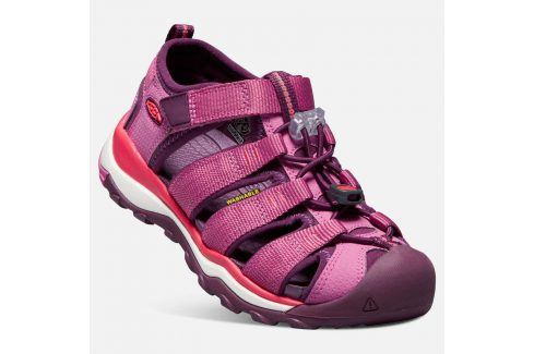 Dětské sandály NEWPORT NEO H2 K red violet/grape wine růžová 30 Dětská obuv