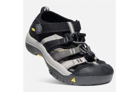 Dětské sandály NEWPORT H2 JR, black/magnet černá 35 Dětská obuv