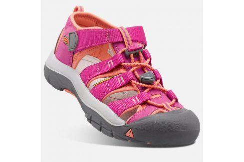 Dětské sandály NEWPORT H2 INF, very berry/fusion coral fuchsia 22 Dětská obuv