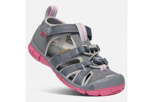 Dětské sandály SEACAMP II CNX K steel grey/rapture rose šedá 29 Dětská obuv