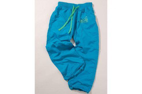 kalhoty sportovní tyrkysová 140 Dětské kalhoty