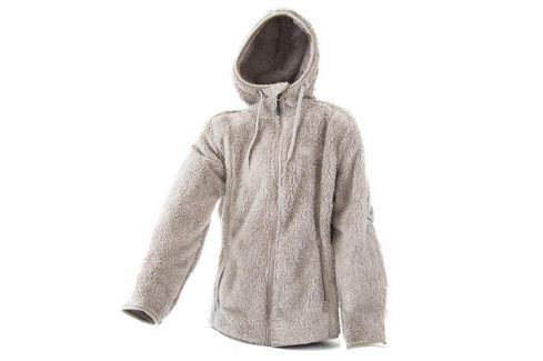 mikina dámská s kapucí béžová M Mikiny a svetry