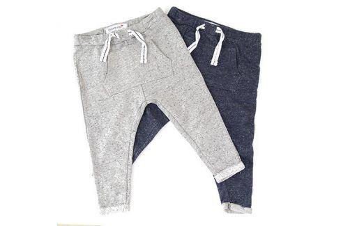 Tepláky chlapecké 2pack modrá 56/62 Dětské kalhoty