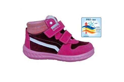 obuv dětská celoroční MEG růžová 23 Dětská obuv