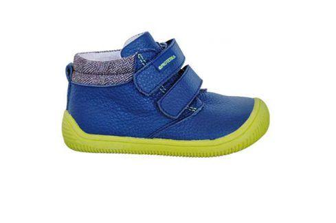 obuv dětská barefoot HARPER NAVY modrá 19 Dětská obuv