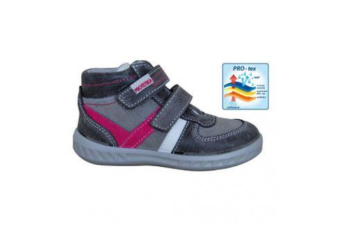 obuv dětská celoroční SENDY šedá 24 Dětská obuv