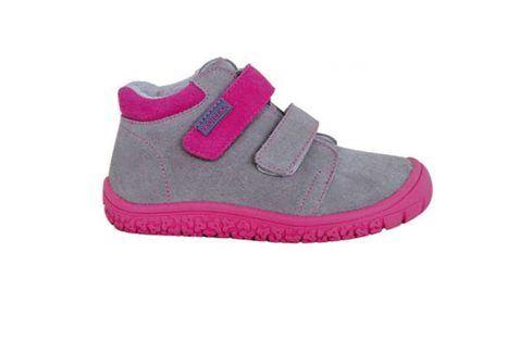 obuv dětská barefoot MARGO FUXIA růžová 32 Dětská obuv
