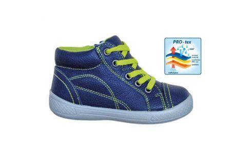 obuv dětská celoroční PRESTON modrá 34 Dětská obuv