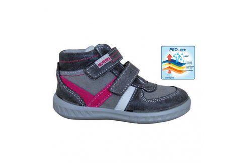 obuv dětská celoroční SENDY šedá 33 Dětská obuv