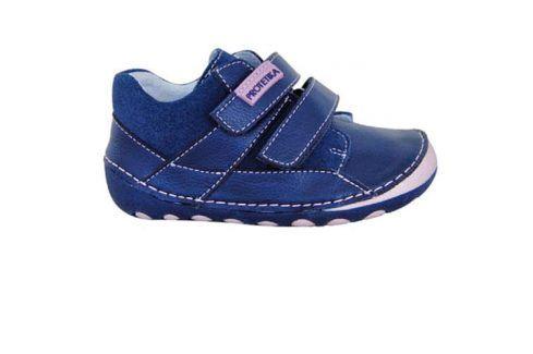 obuv dětská barefoot NED PINK modrá 21 Dětská obuv