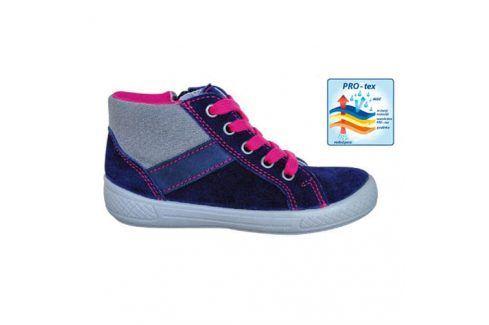 obuv dětská celoroční SISI NAVY tmavě modrá 33 Dětská obuv