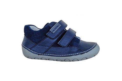 obuv dětská barefoot NED NAVY modrá 19 Dětská obuv