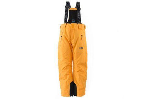 kalhoty zimní lyžařské oranžová 110 Dětské kalhoty
