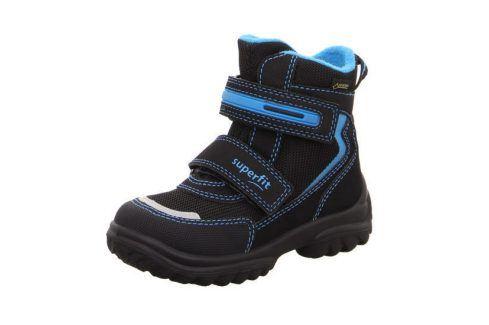 zimní boty SNOWCAT modrá 26 Dětská obuv