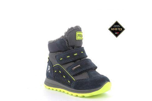 chlapecké boty zimní GTX modrá 27 Dětská obuv
