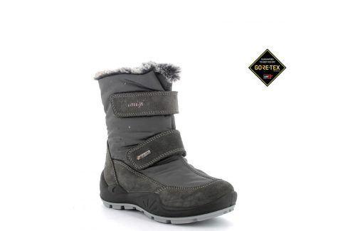 dívčí boty zimní GTX šedá 27 Dětská obuv