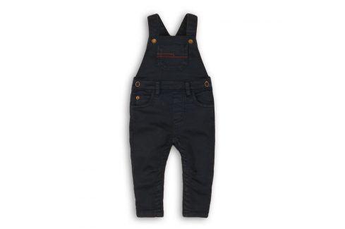 Kalhoty chlapecké s laclem tmavě modrá 80/86 Kojenecké kalhoty a šortky