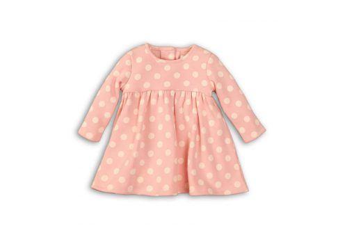 Šaty dívčí růžová 68/74 Kojenecké šatičky a sukně