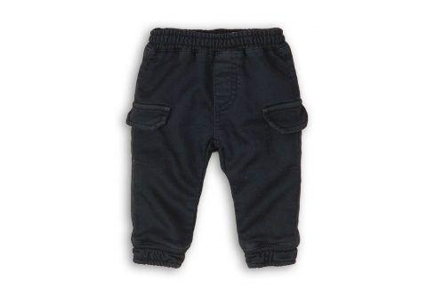 Kalhoty chlapecké s kapsami tmavě modrá 56/62 Kojenecké kalhoty a šortky