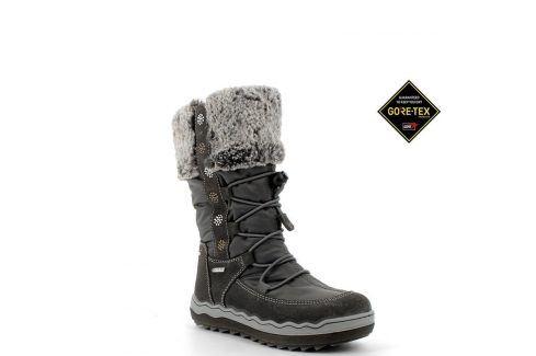 dívčí boty zimní GTX šedá 39 Dětská obuv