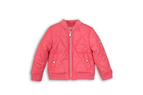 Bunda dívčí Bomber růžová 86/92 Kojenecké kabátky, bundy a vesty
