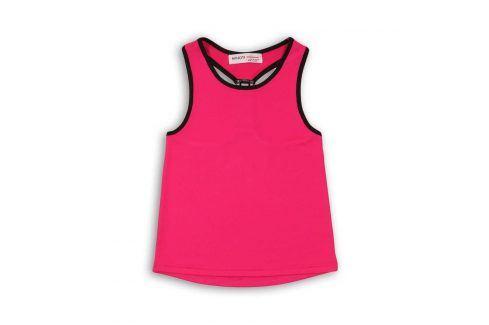Tílko dívčí sportovní růžová 122/128 Trička a košile