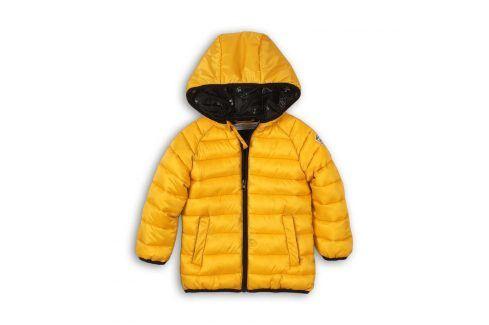 Bunda chlapecká Puffa žlutá 98/104 Dětské bundy a kabáty