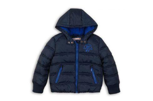 Bunda chlapecká Puffa tmavě modrá 68/80 Kojenecké kabátky, bundy a vesty