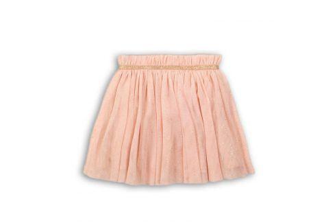 Sukně dívčí růžová 104/110 Šaty, sukně