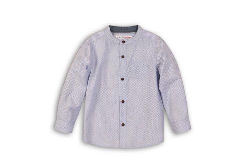 Košile chlapecká bavlněná světle modrá 68/80 Kojenecká trička a košilky