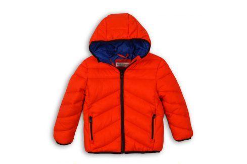 Bunda chlapecká Puffa oranžová 116/122 Kojenecké kabátky, bundy a vesty