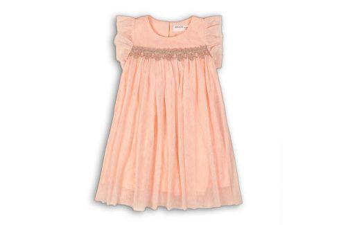 Šaty dívčí slavnostní růžová 80/86 Kojenecké šatičky a sukně