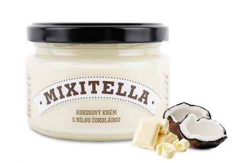 Mixit Mixitella - Kokos s bílou čokoládou  Cereálie a műsli