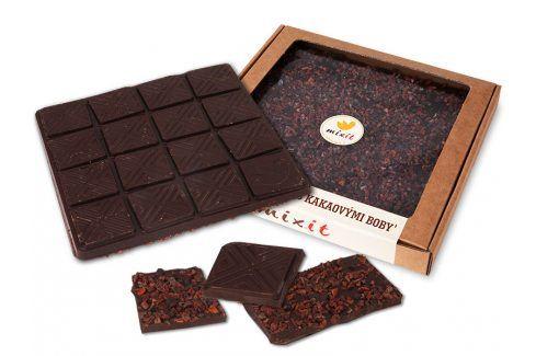 Mixit Čokoláda 'Hořká s kakaovými boby' Zdravá výživa