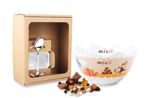 Mixit Dětská miska v dárkovém boxu (bez tubusu) Jídlo a nápoje